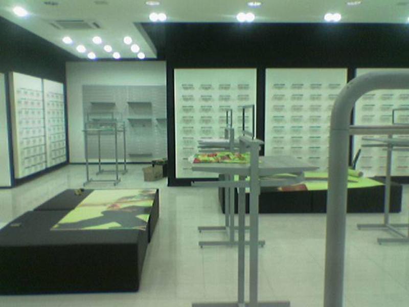 Bakü Nike Mağaza Dekorasyonu